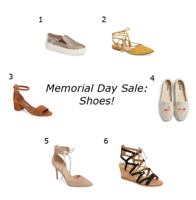 memorial day sale shoes