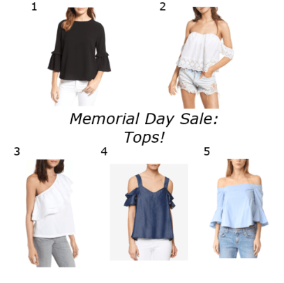 memorial day sale tops